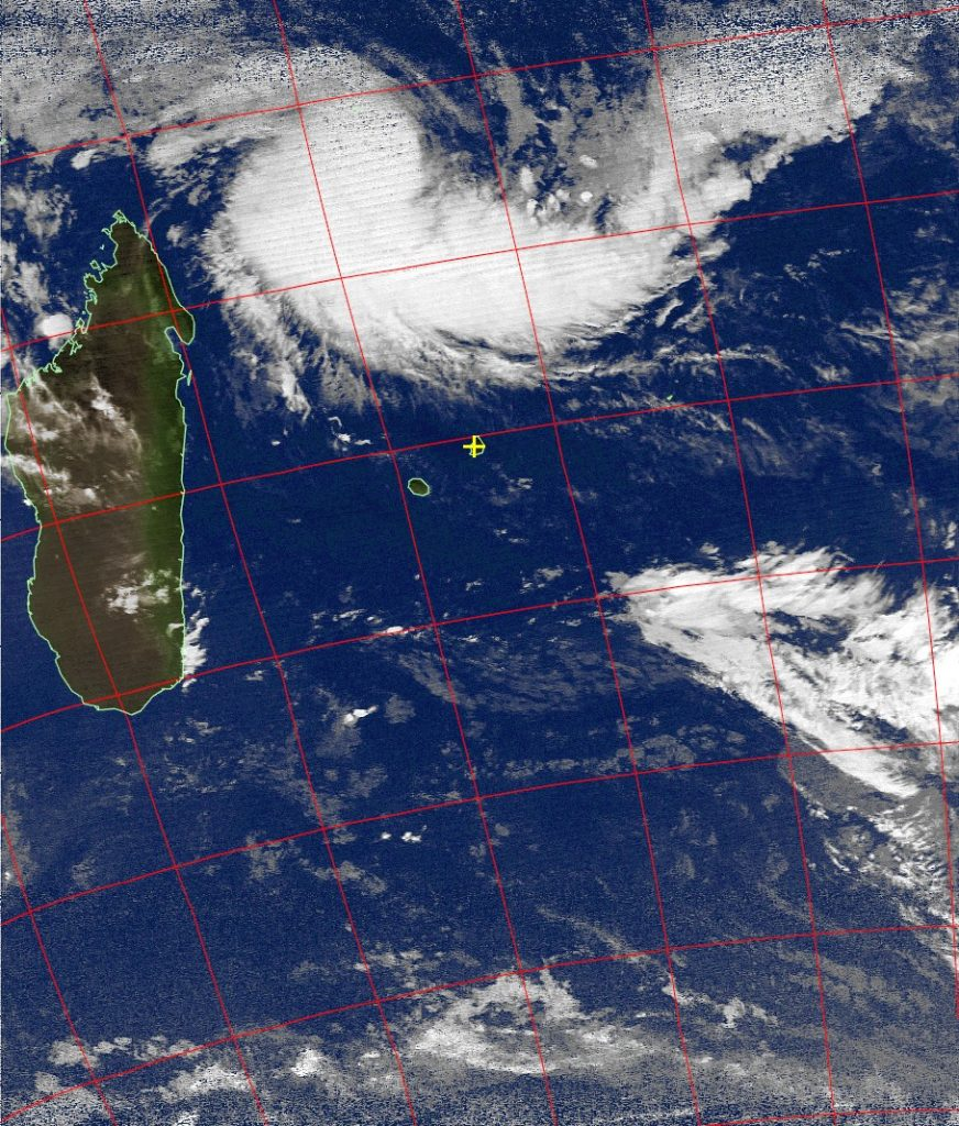 Tropical Depression, Noaa 19 IR 03 Mar 2017 02:55