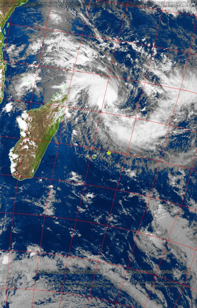 Moderate Tropical Storm Enawo, Noaa 19 VIS 03 Mar 2017 15:29