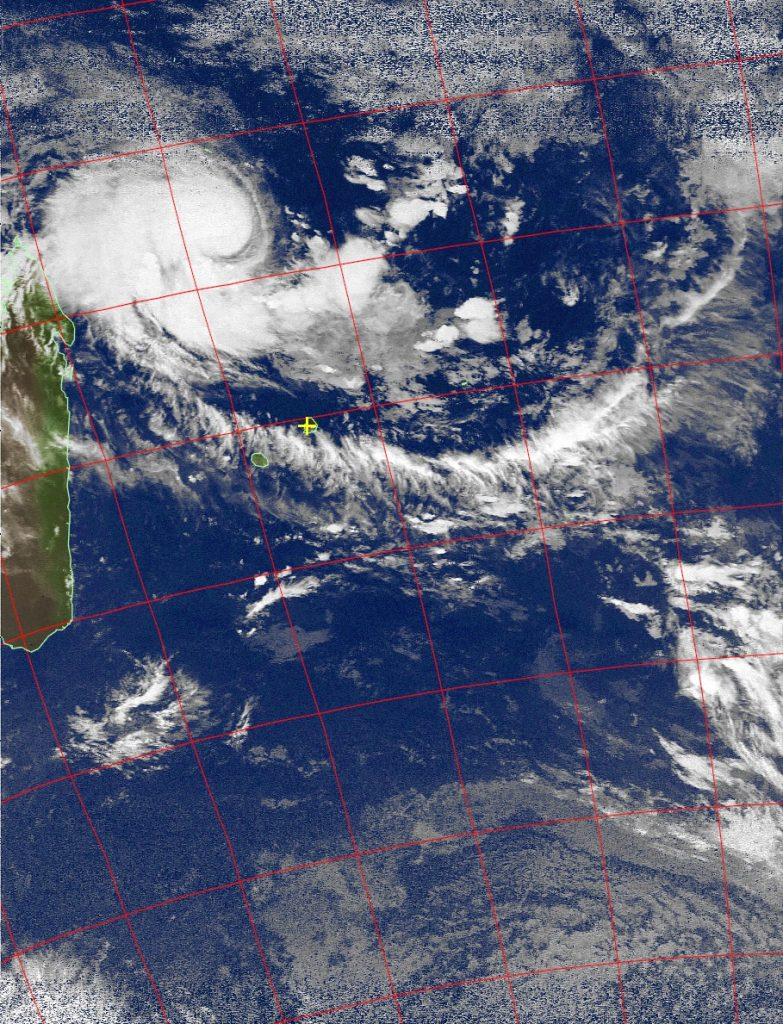 Moderate Tropical Storm Enawo, Noaa 19 IR 04 Mar 2017 02:44