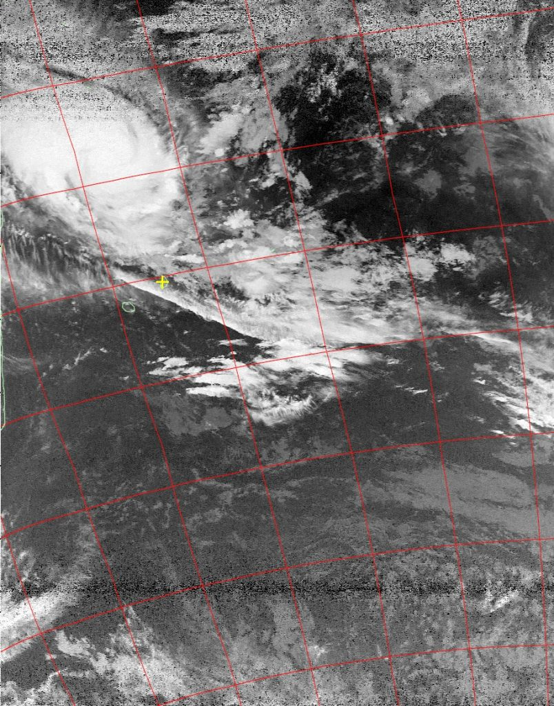 Severe Tropical Storm Enawo, Noaa 19 IR 05 Mar 2017 02:33