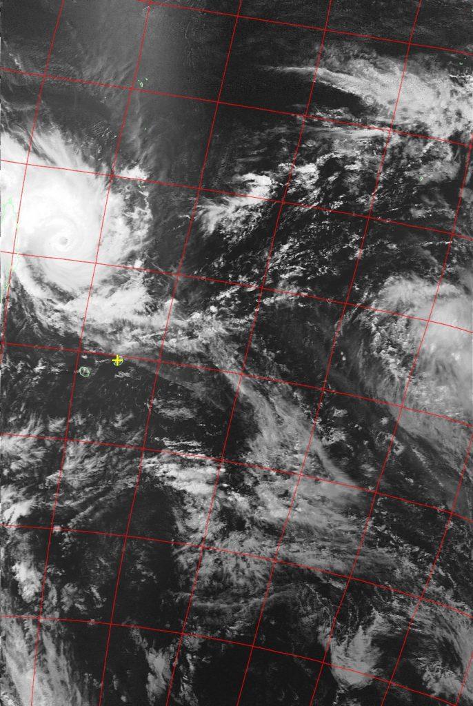 Tropical Cyclone Enawo, Noaa 19 VIS 06 Mar 2017 14:55