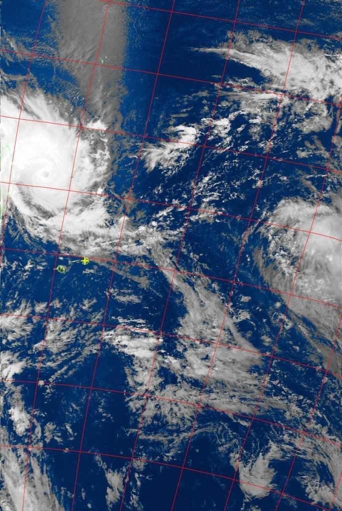 Tropical Cyclone Enawo, Noaa 19 VIS 06 Mar 2017 14:55