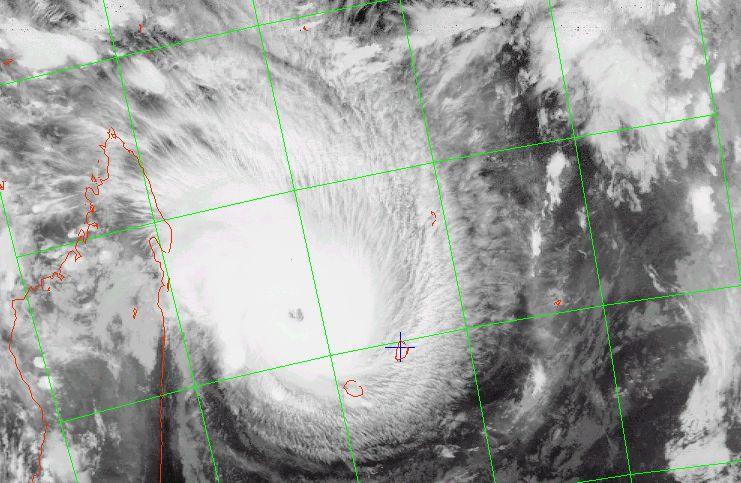 Intense tropical cyclone Ando