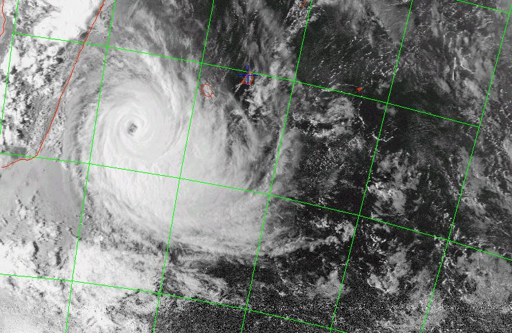 Tropical cyclone Ando