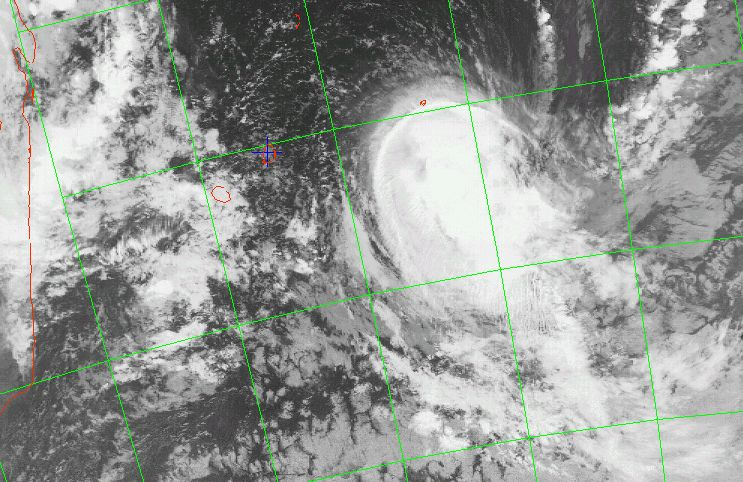 Moderate tropical storm Bindu