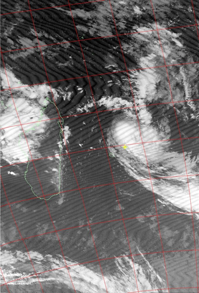 Severe tropical storm Carlos, Noaa 15 IR 06 Feb 2017 06:10