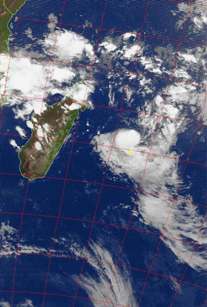 Moderate tropical storm Carlos, Noaa 15 IR 06 Feb 2017 18:36