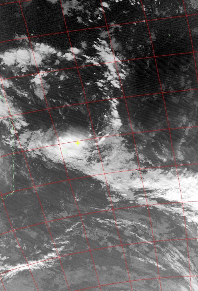 Moderate tropical storm Carlos, Noaa 15 IR 07 Feb 2017 05:45