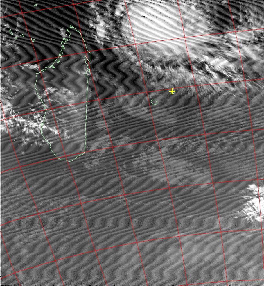 Intense tropical cyclone Fantala, Noaa 15 IR 16 Apr 2016 05:53
