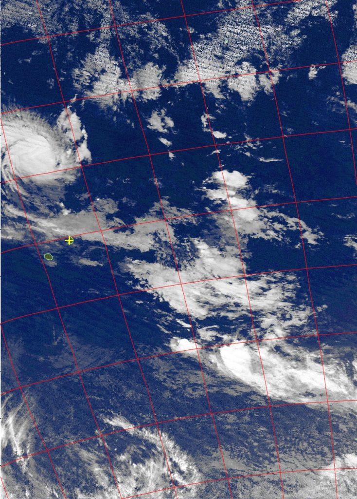 Tropical cyclone Fantala, Noaa 15 IR 22 Apr 2016 05:04