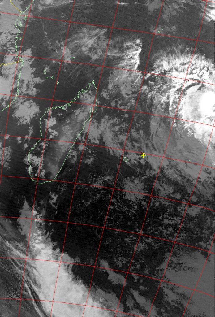 Moderate tropical storm Abela, Noaa 15 IR 17 Jul 2016 18:26