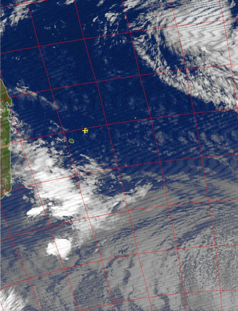 Moderate tropical storm Annabelle, Noaa 15 IR 21 Nov 2015 05:12