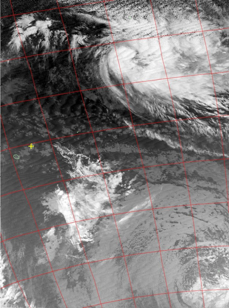 Moderate tropical storm Annabelle, Noaa 15 IR 22 Nov 2015 04:48