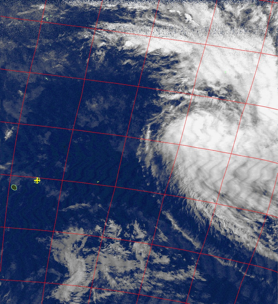 Moderate tropical storm Annabelle, Noaa 15 IR 22 Nov 2015 17:14