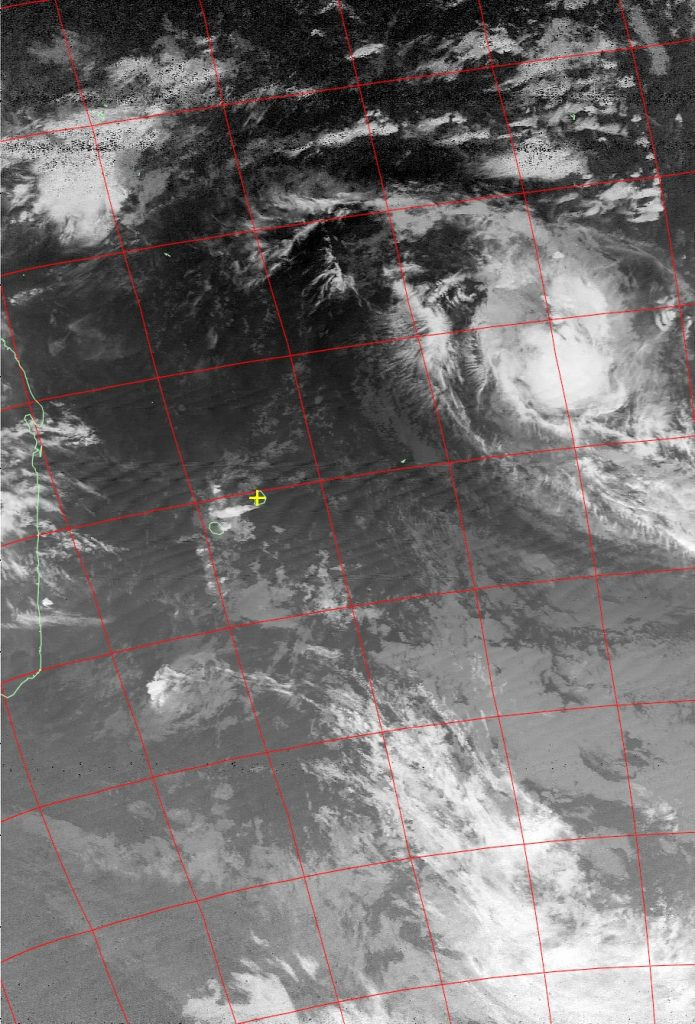 Moderate tropical storm Bohale, Noaa 15 IR 11 Dec 2015 05:15