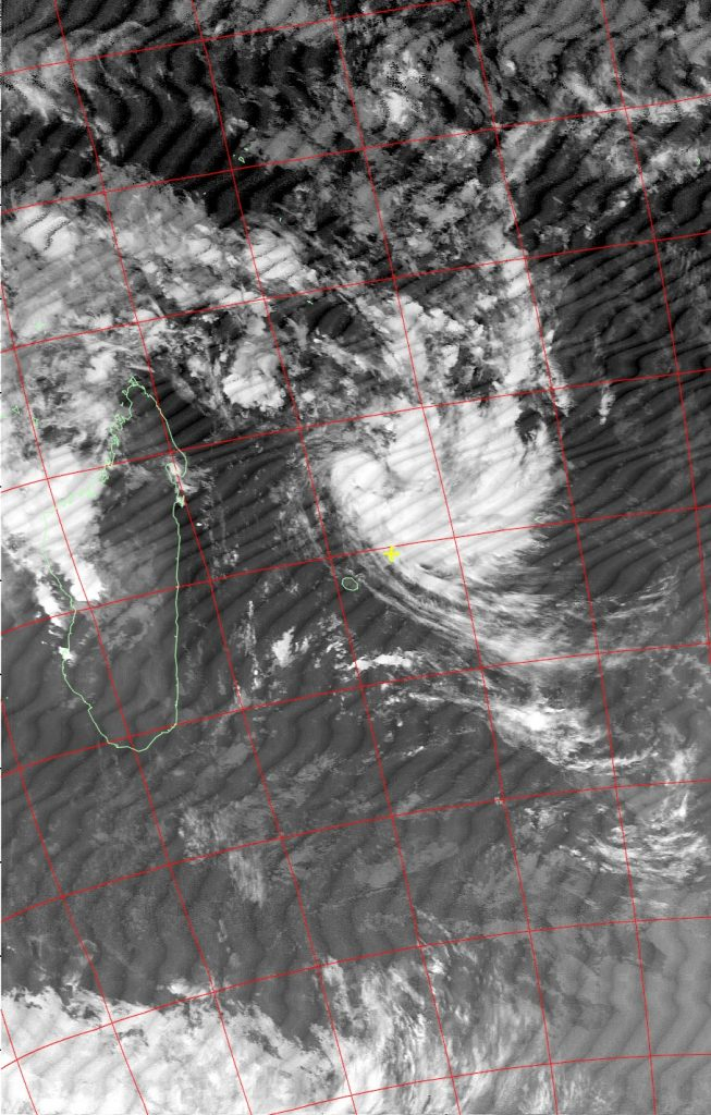 Severe tropical storm Carlos, Noaa 18 IR 05 Feb 2017 06:34