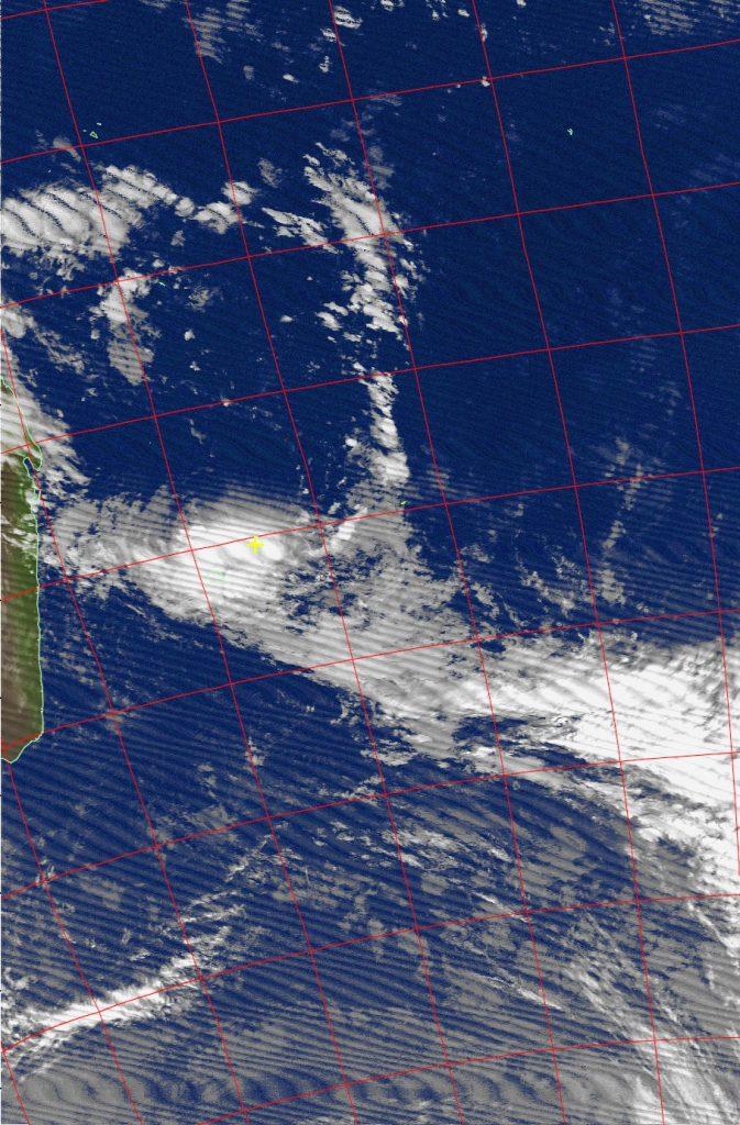 Moderate tropical storm Carlos, Noaa 18 IR 07 Feb 2017 06:11