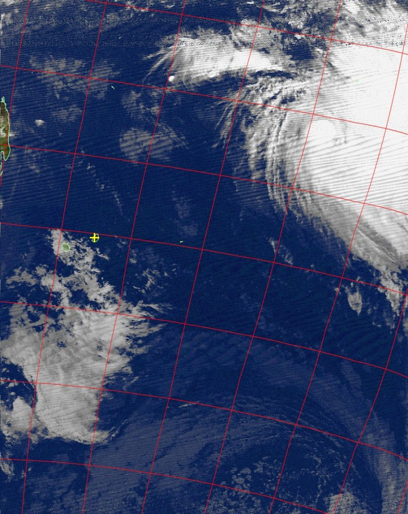 Moderate tropical storm Annabelle, Noaa 18 IR 21 Nov 2015 17:15