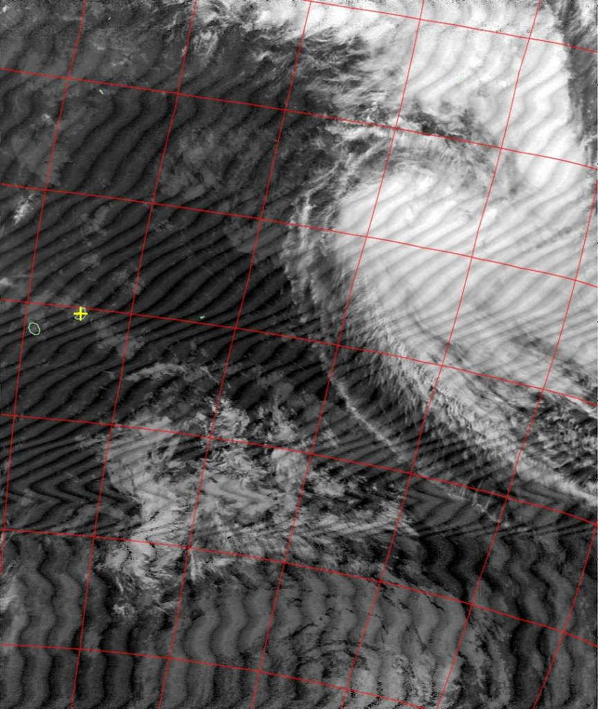 Moderate tropical storm Annabelle, Noaa 18 IR 22 Nov 2015 17:03