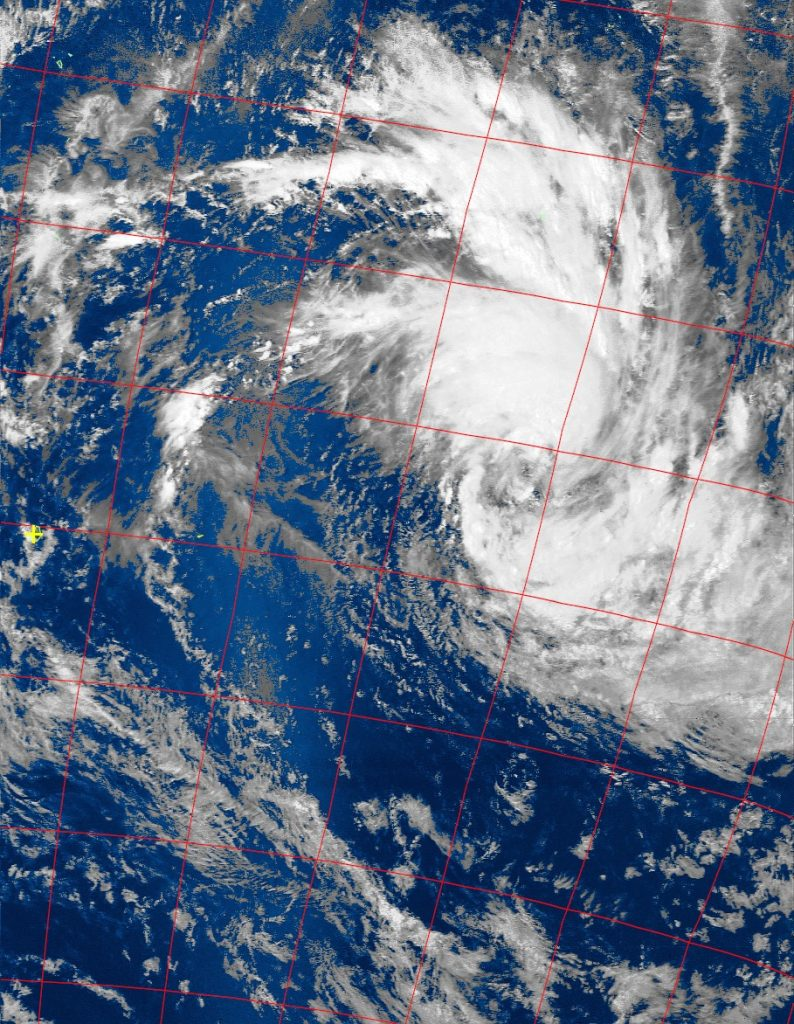 Moderate tropical storm Corentin, Nota 19 VIS 21 Jan 2016 13:54