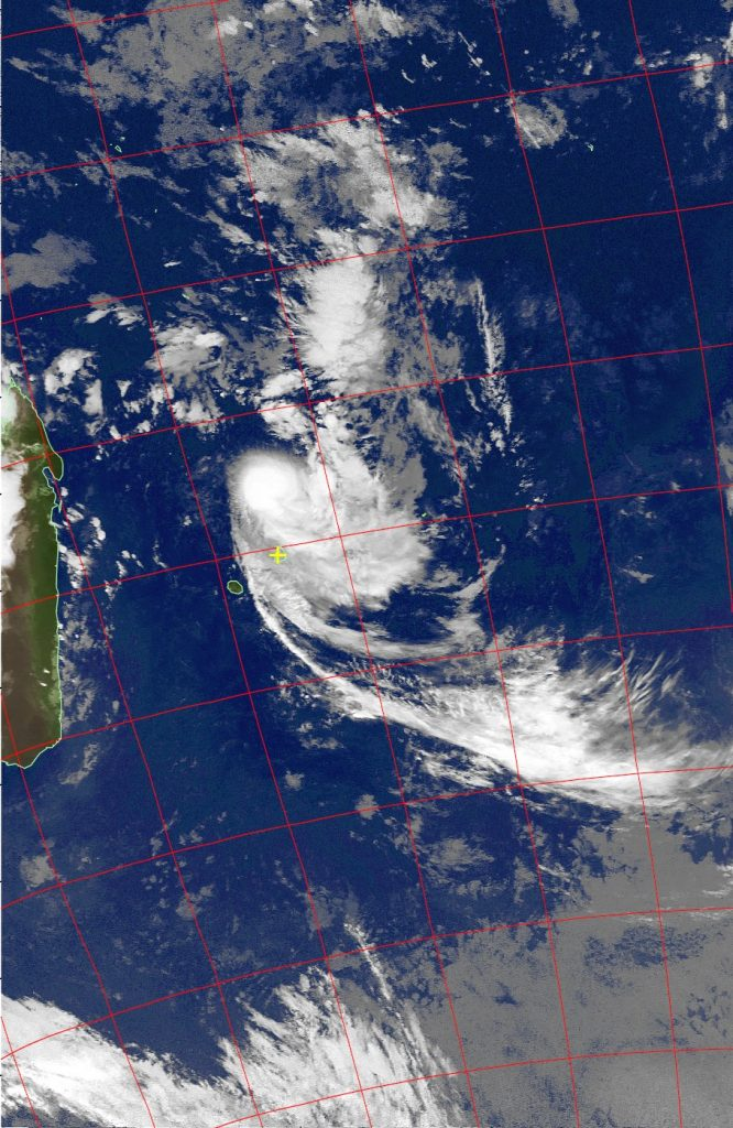 Severe tropical storm Carlos, Noaa 19 IR 06 Feb 2017 02:40