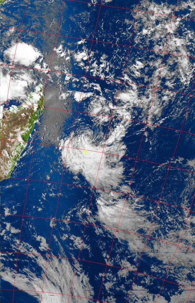 Moderate tropical storm Carlos, Noaa 19 VIS 06 Feb 2017 15:13