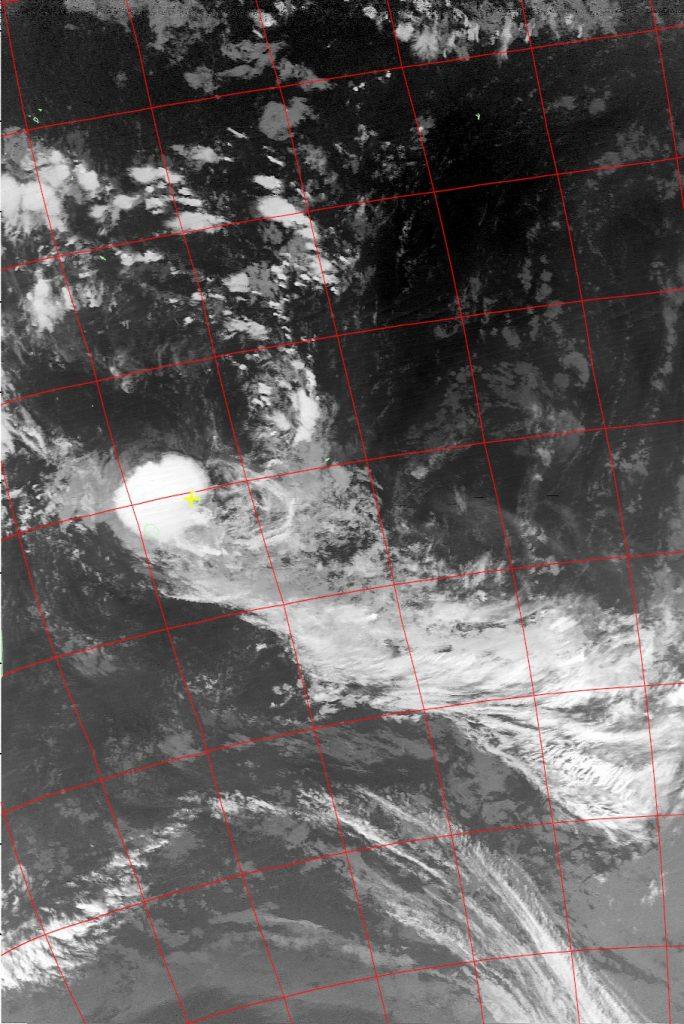 Moderate tropical storm Carlos, Noaa 19 IR 07 Feb 2017 02:28