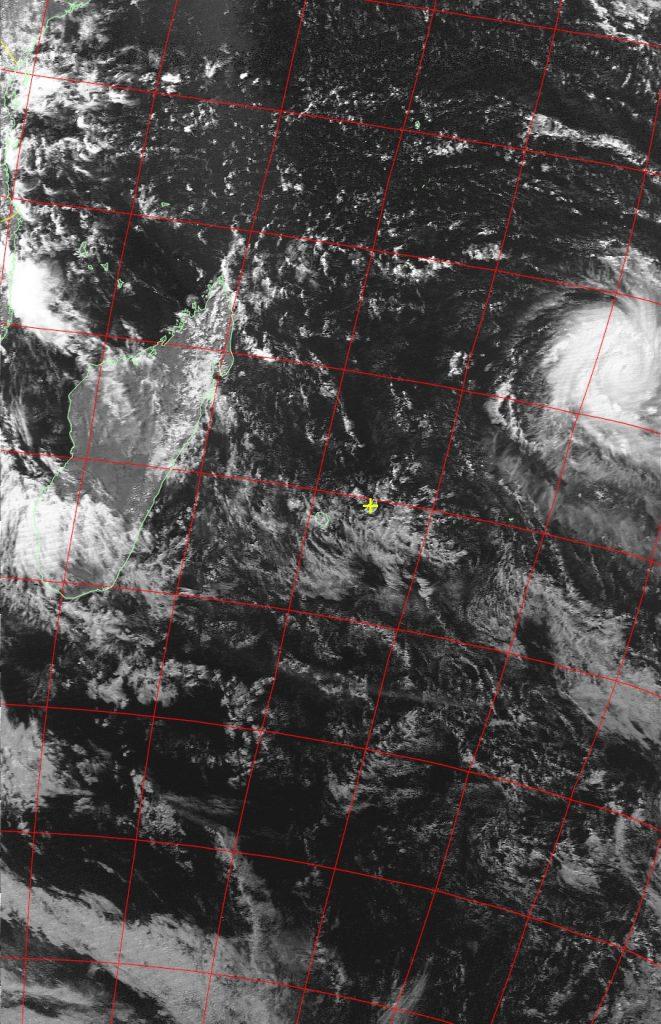 Tropical cyclone Fantala, Noaa 19 VIS 13 Apr 2016 14:59