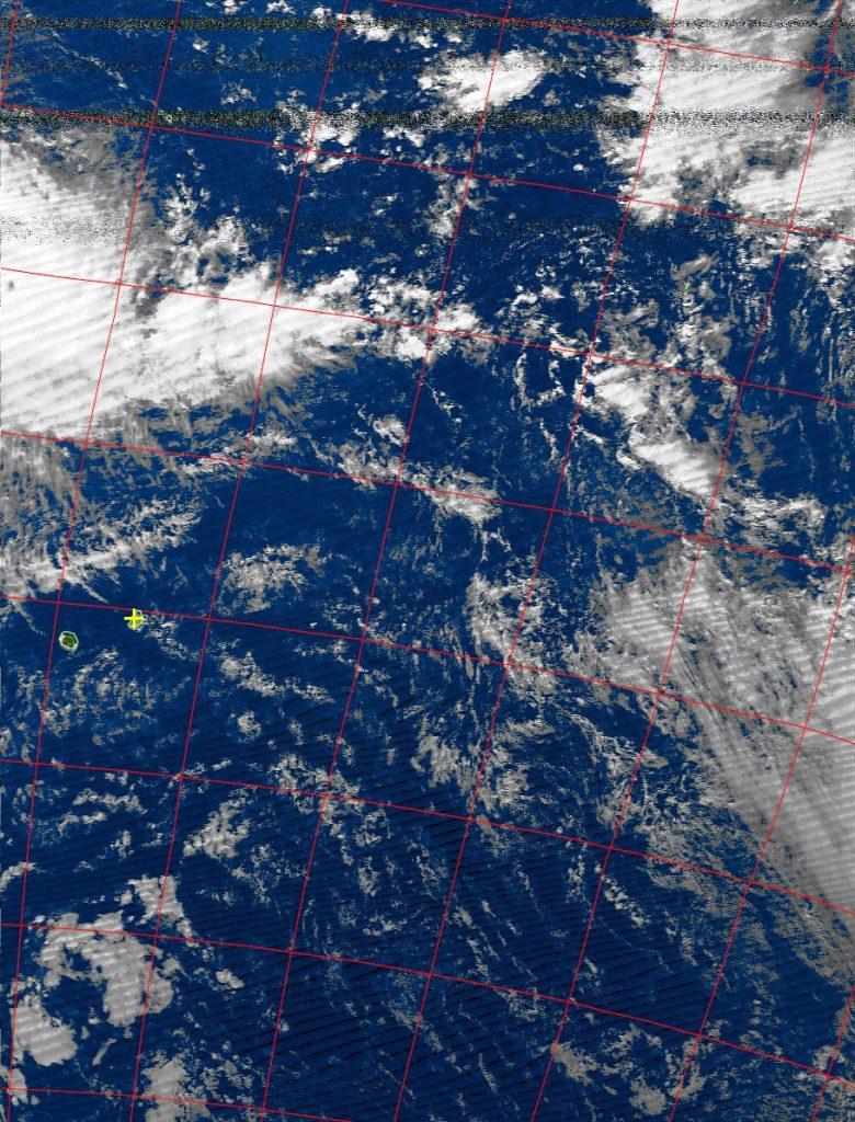 Intense tropical cyclone Fantala, Noaa 19 VIS 17 Apr 2016 14:14