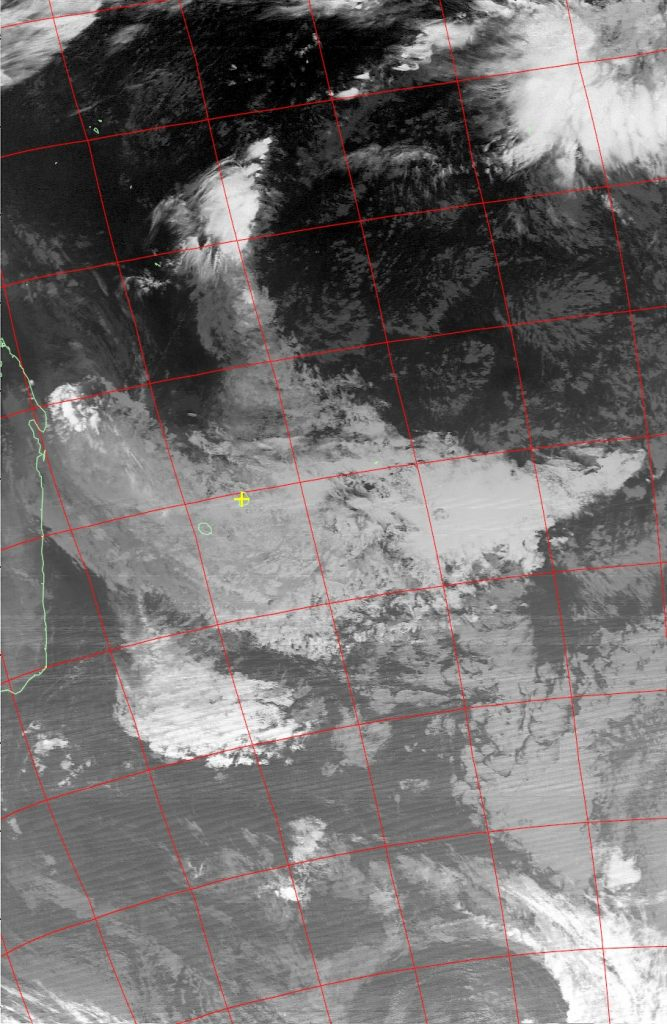 Tropical storm Ex-Abela, Noaa 19 IR 20 Jul 2016 02:18