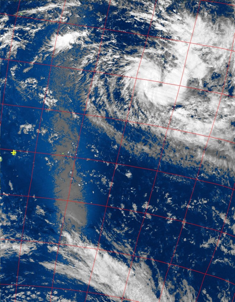 Tropical depression, Noaa 19 VIS 20 Nov 2015 14:00