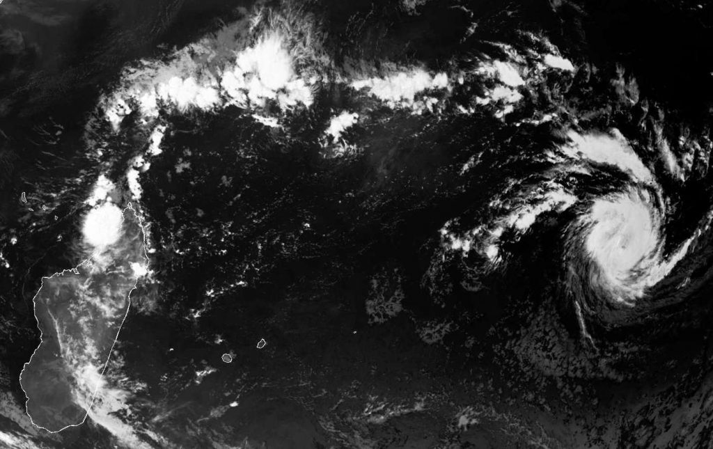 Intense Tropical Cyclone Cebile, Meteosat 29 Jan 2018 07:00