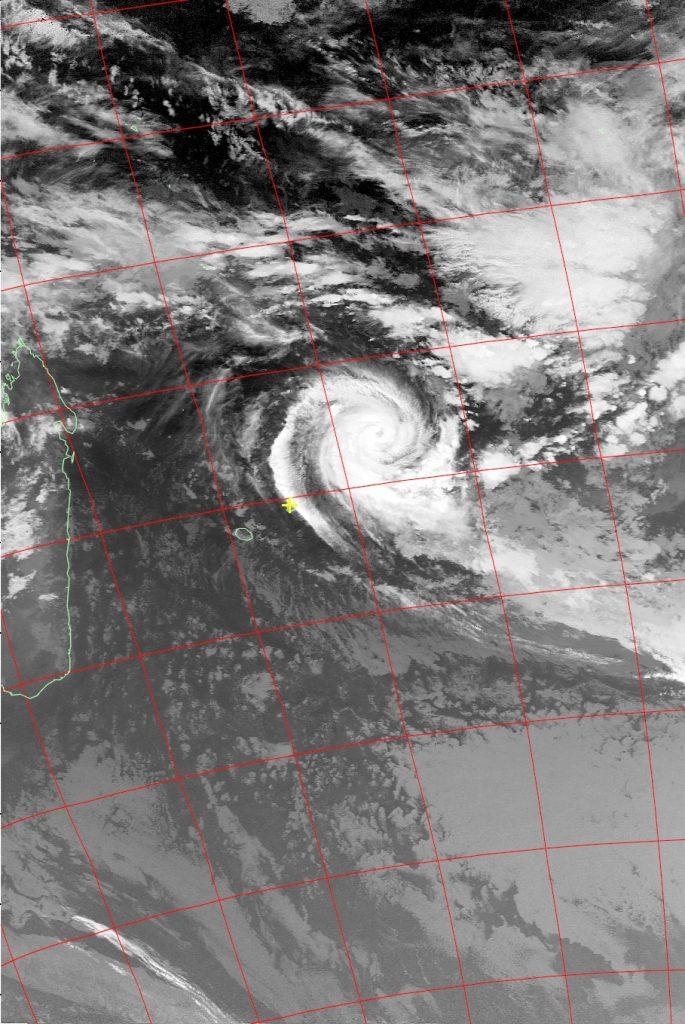 Intense Tropical Cyclone Berguitta, Noaa 15 IR 16 Jan 2018 06:10