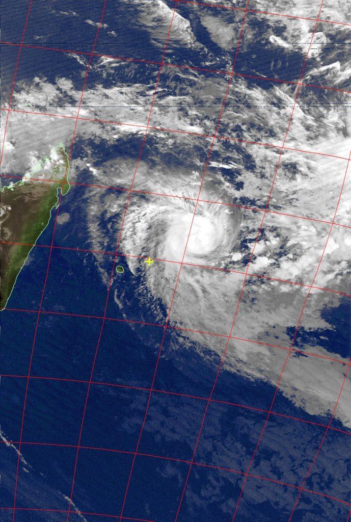 Tropical Cyclone Berguitta, Noaa 15 IR 16 Jan 2018 18:36