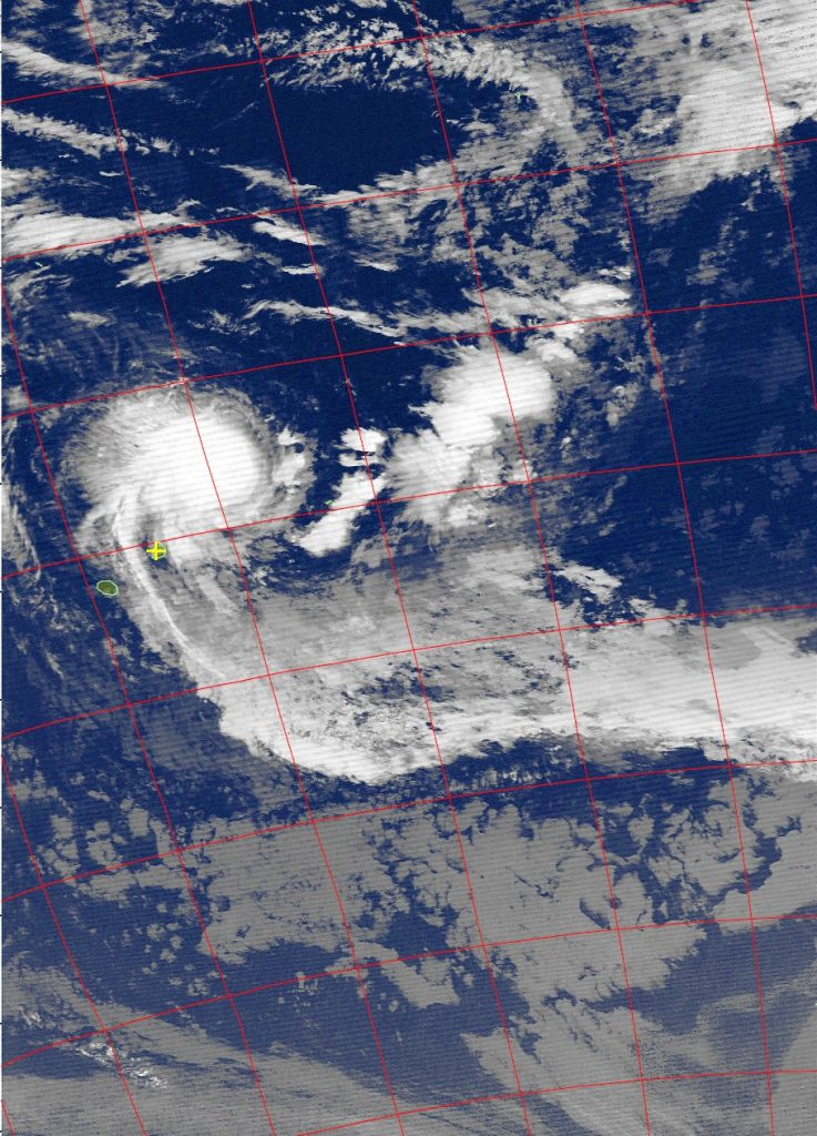 Tropical Cyclone Berguitta, Noaa 15 IR 17 Jan 2018 05:45