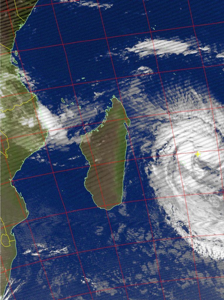 Severe Tropical Storm Berguitta, Noaa 15 IR 18 Jan 2018 07:00