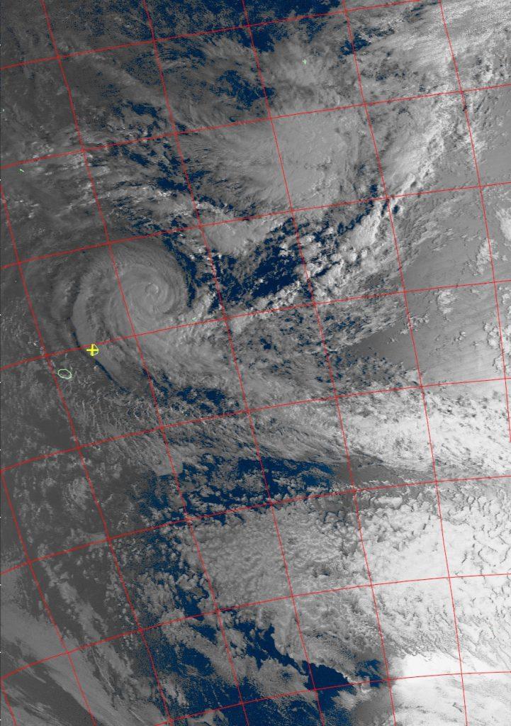 Intense Tropical Cyclone Berguitta, Noaa 18 VIS 16 Jan 2018 06:46