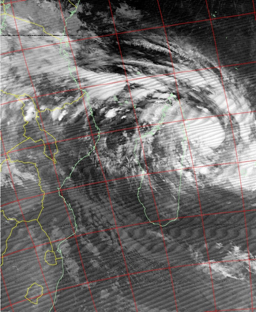 Moderate Tropical Storm Ava, Noaa 19 IR 04 Jan 2018 04:32