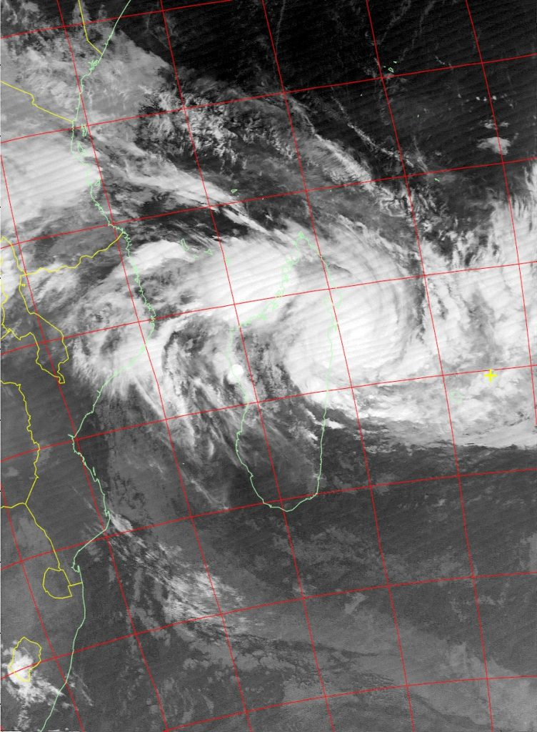 Tropical Cyclone Ava, Noaa 19 IR 05 Jan 2018 04:20