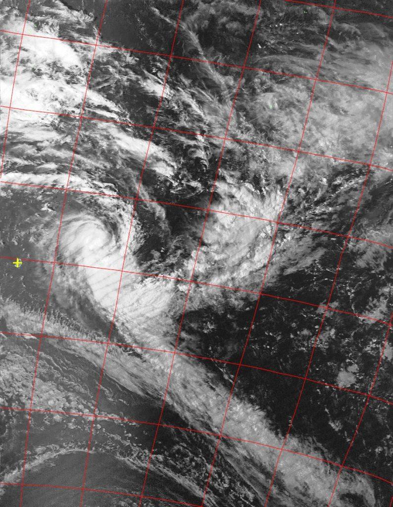 Severe Tropical Storm Berguitta, Noaa 19 VIS 14 Jan 2018 15:10