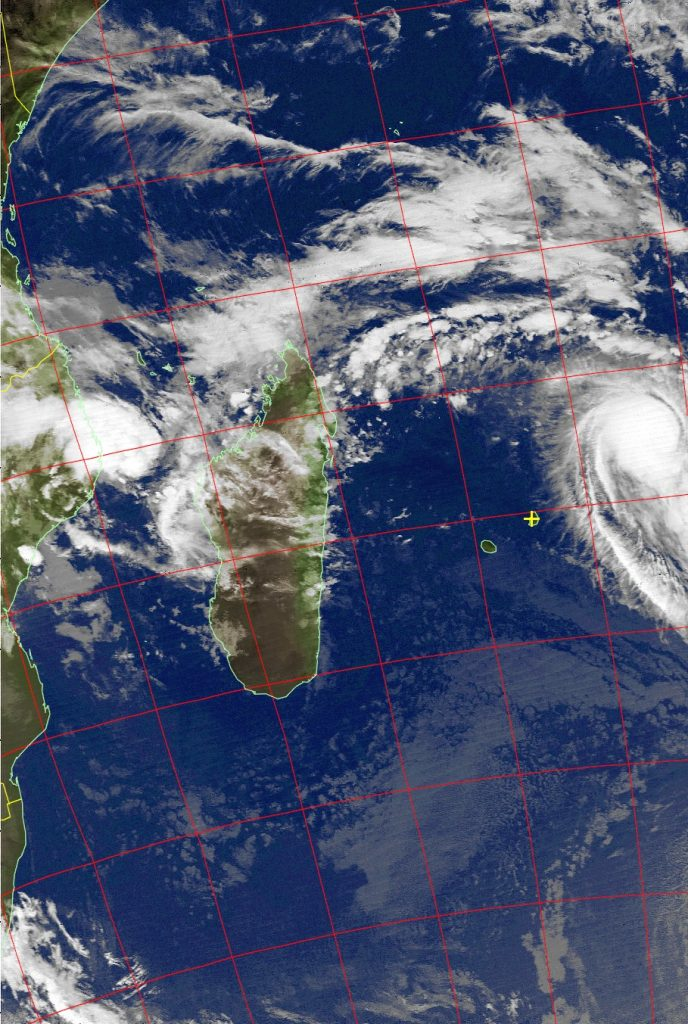 Severe Tropical Storm Berguitta, Noaa 19 IR 15 Jan 2018 04:05
