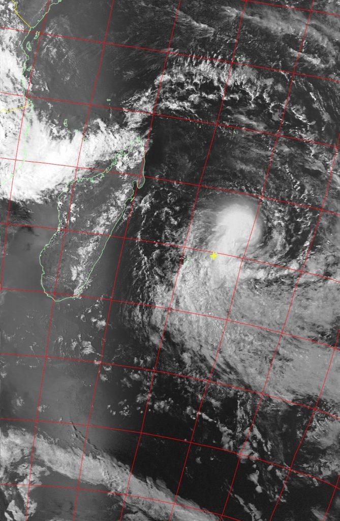 Severe Tropical Storm Berguitta, Noaa 19 IR 17 Jan 2018 16:15