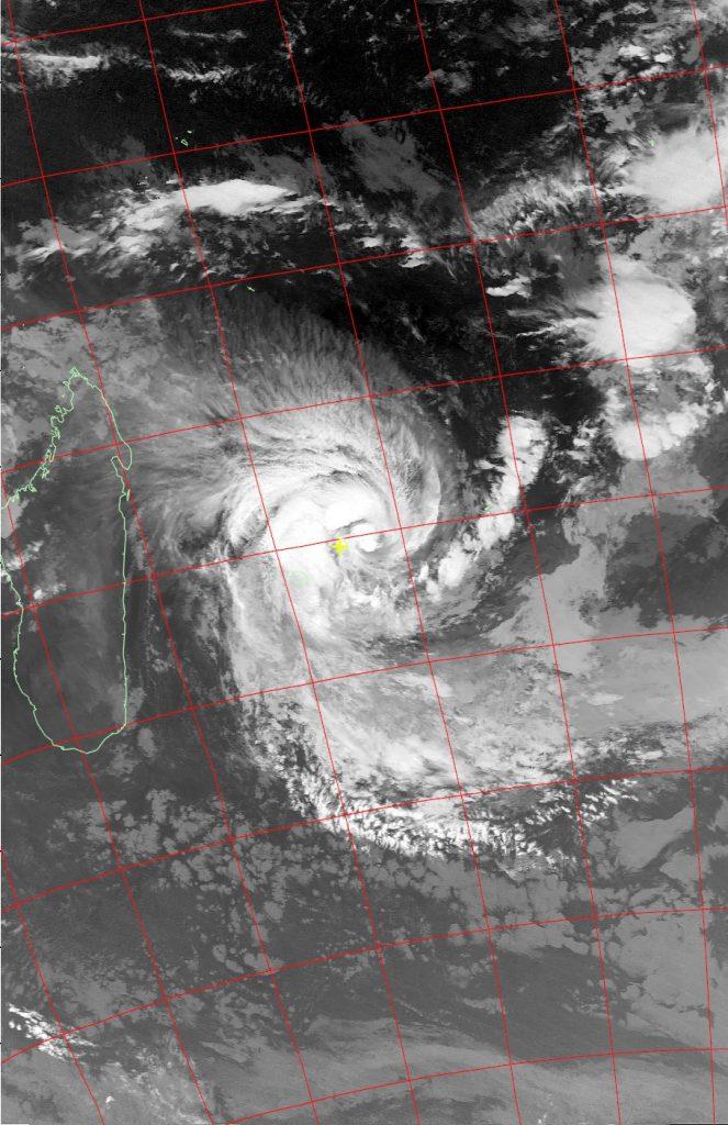 Severe Tropical Storm Berguitta, Noaa 19 IR 18 Jan 2018 03:30