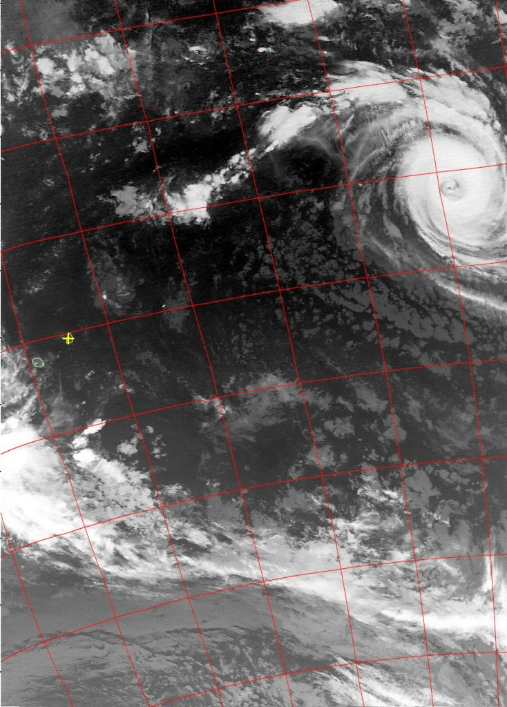 Tropical Cyclone Cebile, Noaa 19 IR 30 Jan 2018 02:53