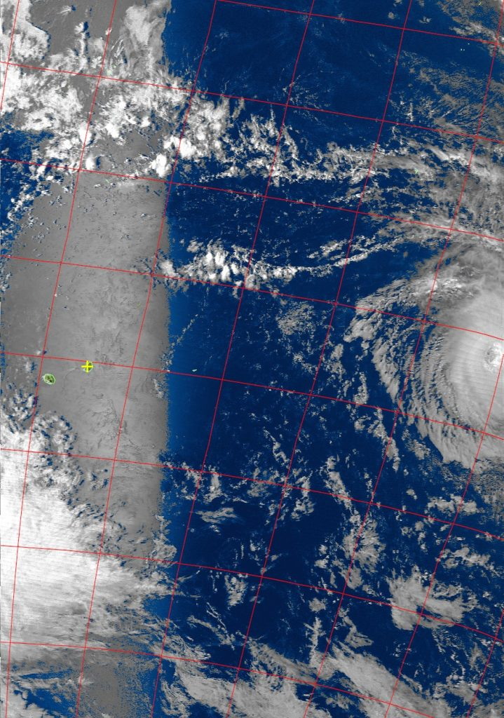 Tropical Cyclone Cebile, Noaa 19 VIS 30 Jan 2018 15:26