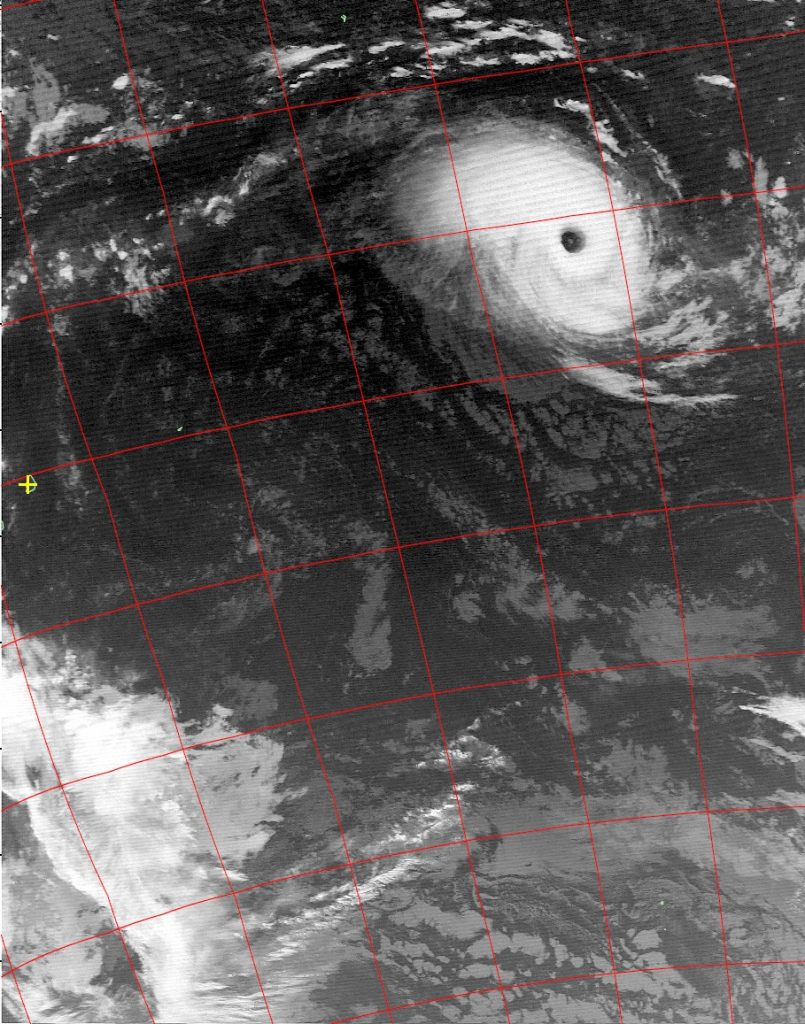 Tropical Cyclone Cebile, Noaa 19 IR 31 Jan 2018 02:42