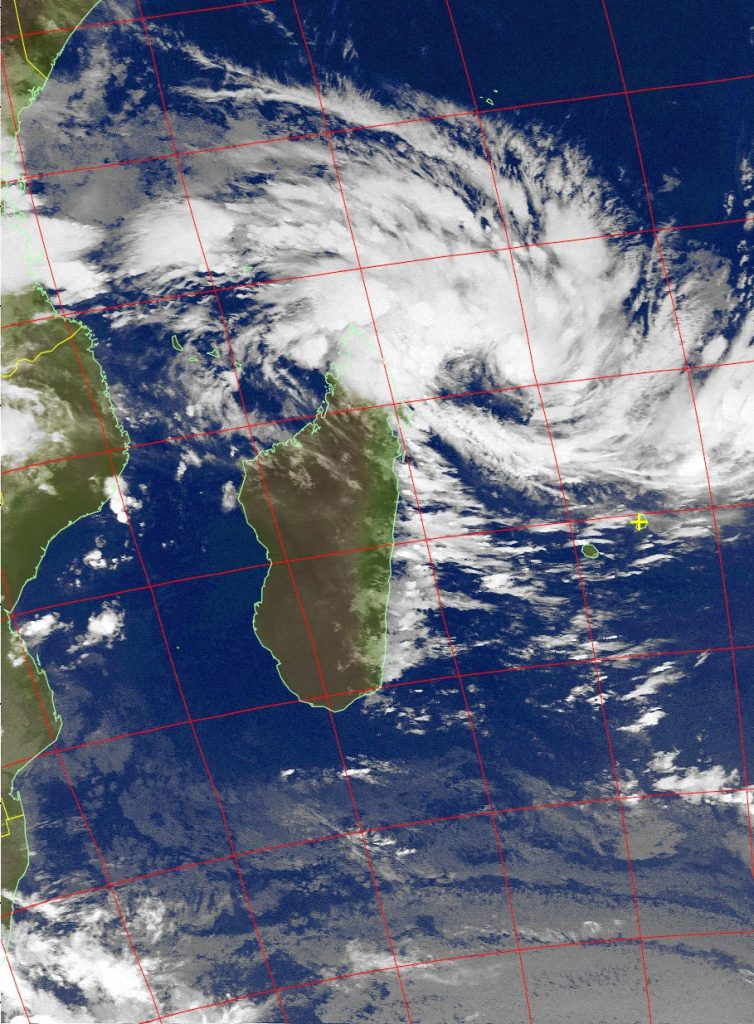 Moderate Tropical Storm Dumazile, Noaa 15 IR 03 Mar 2018 06:59