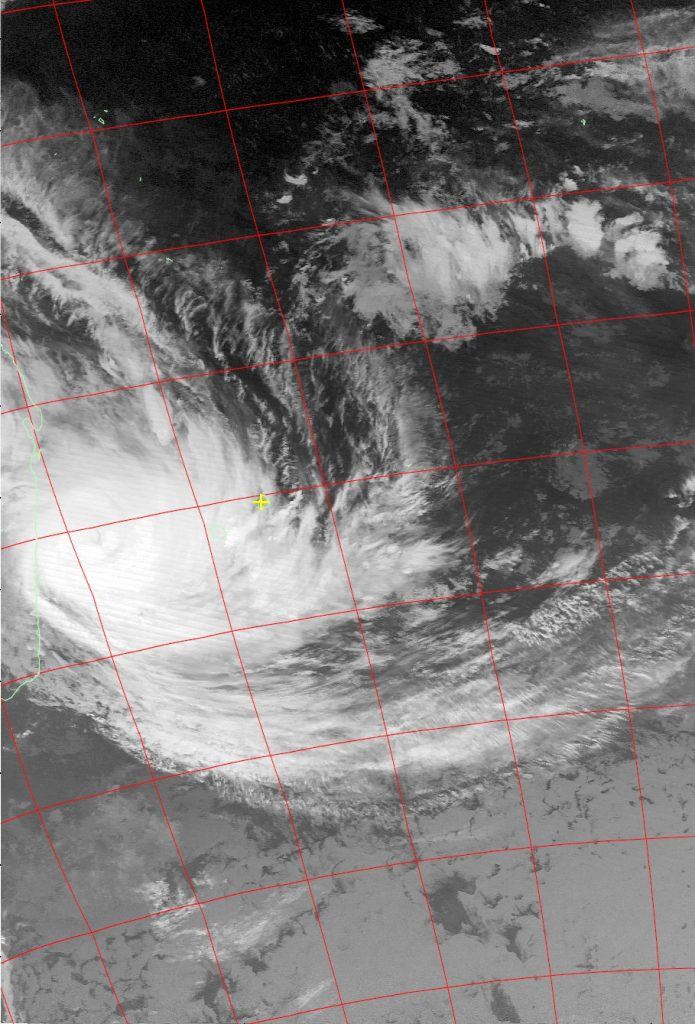 Tropical Cyclone Dumazile, Noaa 15 IR 05 Mar 2018 06:08