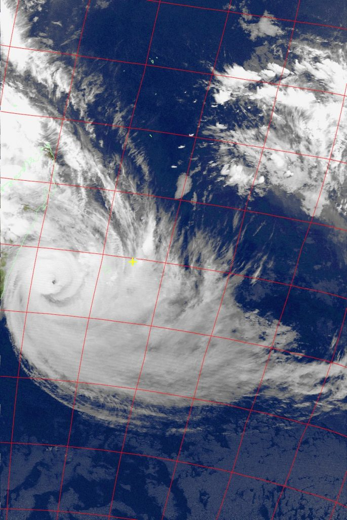 Tropical Cyclone Dumazile, Noaa 15 IR 05 Mar 2018 18:35