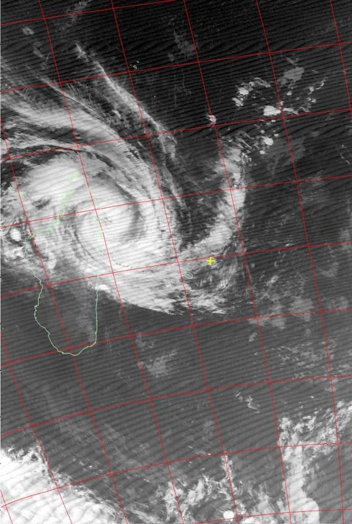 Severe Tropical Storm Eliakim, Noaa 15 IR 16 Mar 2018 06:33